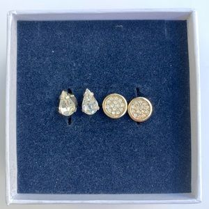 Club Monaco sparkle studs (set of 2)